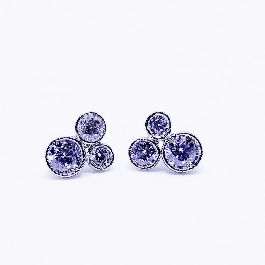 Disney - Tops Earrings - White