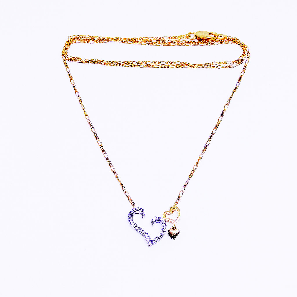 HEART-TO-HEART Pendant with Chain